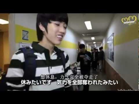 【中字】INFINITE「LEAPING OVER」DVD 日本Making Part 2/4