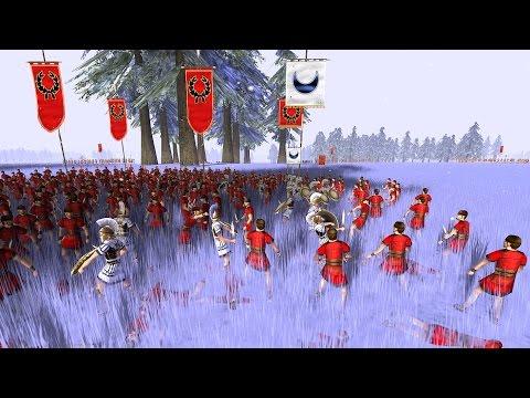 """Rome Total War: """"Peasant General"""" (online battle #2166)"""