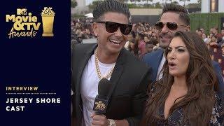 Cast of 'Jersey Shore' on Red Carpet | 2018 MTV Movie & TV Awards