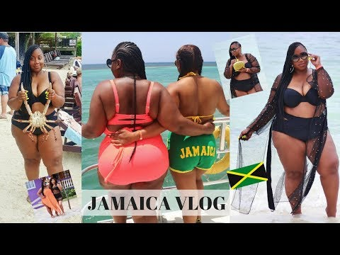 GIRL WHAT??! BOOZE CRUISE, FACING MY FEARS & BFF FUN! JAMAICA VLOG 2018! thumbnail