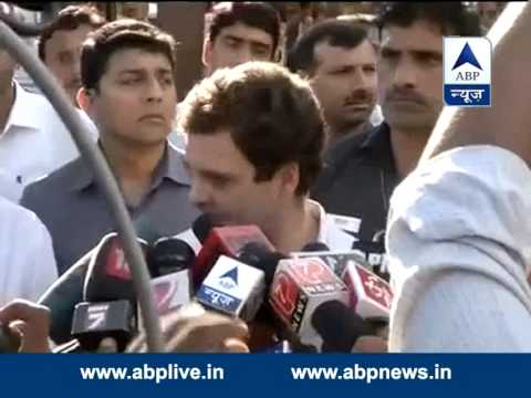 NDA govt did not deliver its promises: Rahul Gandhi in Amethi