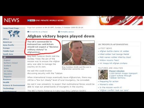 US UK & ISAF Lost war In Afghanistan