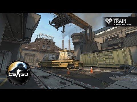 Ничья 15-15. Train. Counter-Strike: Global Offensive