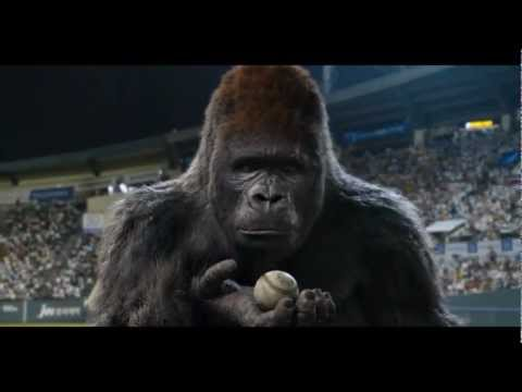 Mr. Go Official Trailer - Korean Baseball Gorilla Movie 2013