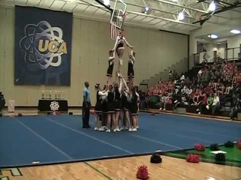 Pershing Middle School Cheerleading - Competition 2012