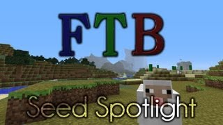 Minecraft Feed the Beast Seed - Viewer Submission - Awesome Mountains!