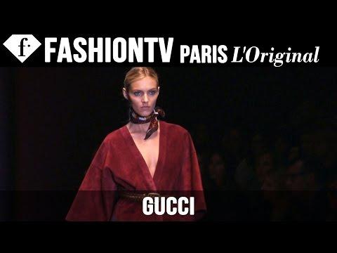 Gucci Spring/Summer 2015 FIRST LOOK ft Anja Rubik, Joan Smalls | Milan Fashion Week | FashionTV