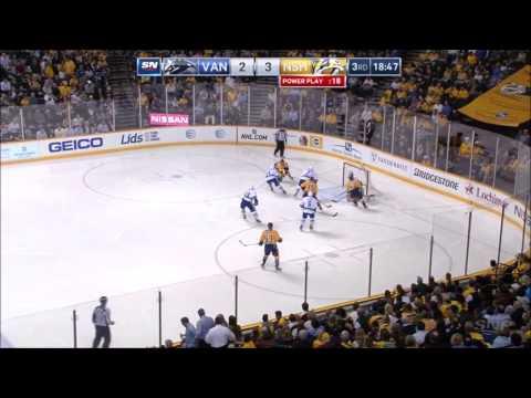 Canucks vs Predators - Highlights - 3/31/15 - HD