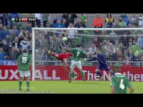 Paterson Goal 1:0 Northern Ireland - Russia