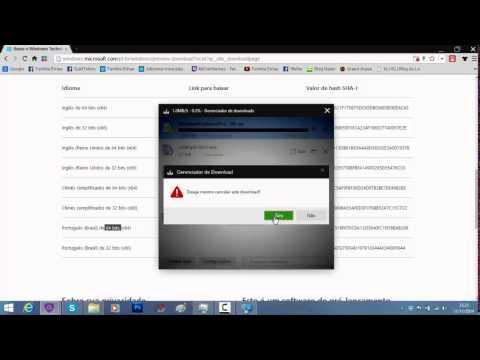 Copy of Baixando Windows 10 Technical Preview + Aviso