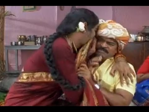 Khadgam Comedy Scene | Ravi Teja Teases Brahmaji In A Lady Getup video