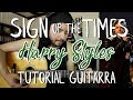 Sign Of The Times Harry Styles Tutorial Como Tocar En Guitarra Guitar Lesson mp3