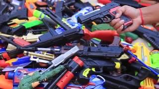 Box of Toys ! GUNS BOX Toys Military & Police equipment | Gun toy (38)