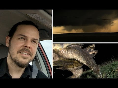 Tornado Season 2015 Vlog 1: Kansas Tornadoes & Snapper Rescue