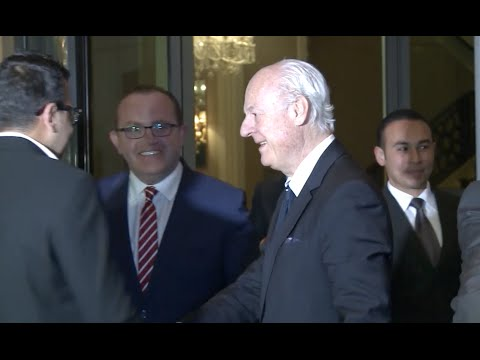 UN Special Envoy Visits Damascus ahead of Latest Peace Talks