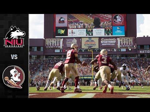 Northern Illinois vs. Florida State Football Highlights (2018)