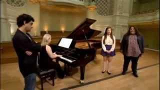 Jonathan & Charlotte Video - Rolando Villazón masterclass with BGT's Jonathan & Charlotte