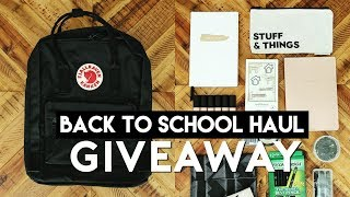 BACK TO SCHOOL GIVEAWAY $1,000! MINIMAL + TRENDY SCHOOL SUPPLIES (UNISEX) 2018