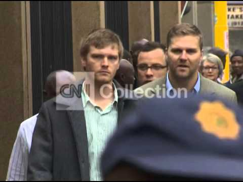 SOUTH AFRICA: OSCAR PISTORIUS TRIAL ARRIVAL (TUES)