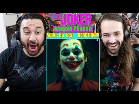 JOKER Movie 2019 - Joaquin Phoenix Make Up Test - REACTION!!!