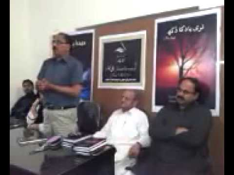 Qamar Raza Shahzad speaks about Sheraz Sagar.....April 2013