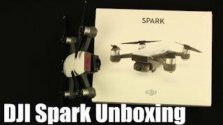 Dron DJI Spark unboxing CZ