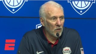 Popovich credits Australia for snapping Team USA's 78-game win streak | NBA on ESPN