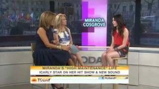 Miranda Cosgrove Today Show Interview