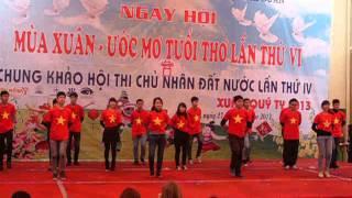 Dân vũ : 5 điều Bác Hồ dạy - Đội dân vũ Học viện CSND
