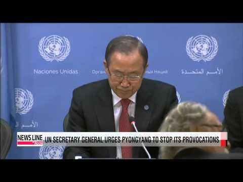 UN Secretary General calls on North Korea to stop its provocations