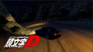 GTA 5 - Downhill Drifting Eight - Six イニシャルD