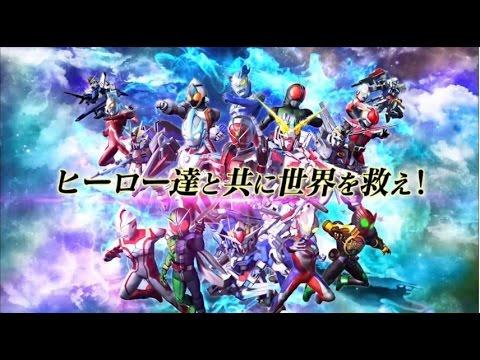 【PS3/PSV】『スーパーヒーロージェネレーション』PV第2弾&オープニングムービーが公開