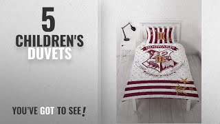 Top 10 Children'S Duvets [2018]: Harry Potter 'Muggles' Single Duvet Set – Reversible Two Sided