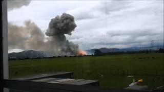 Explosión polvoreria en Tenjo