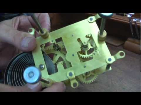Repairing Ansonia Clock Movement. O.C. Clock Repair