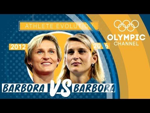 Barbora Spotakova (London 2012 x Rio 2016)   Athlete Evolution