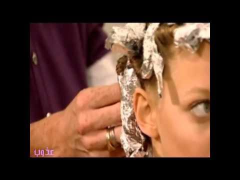 تجعيد الشعر باوراق القصدير