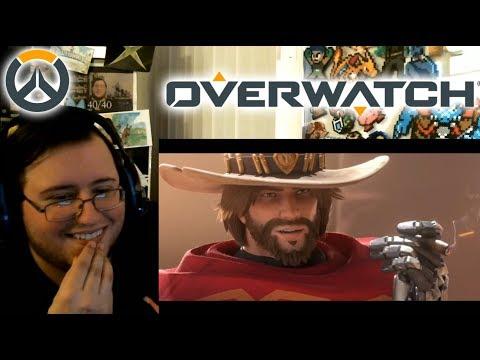 Gors Overwatch Reunion MCCREE Short REACTION