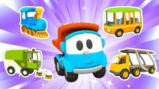 Car Cartoons for Kids: Leo the Truck and Street Vehicles