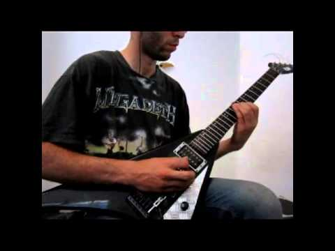 megadeth 44 minutes guitar cover