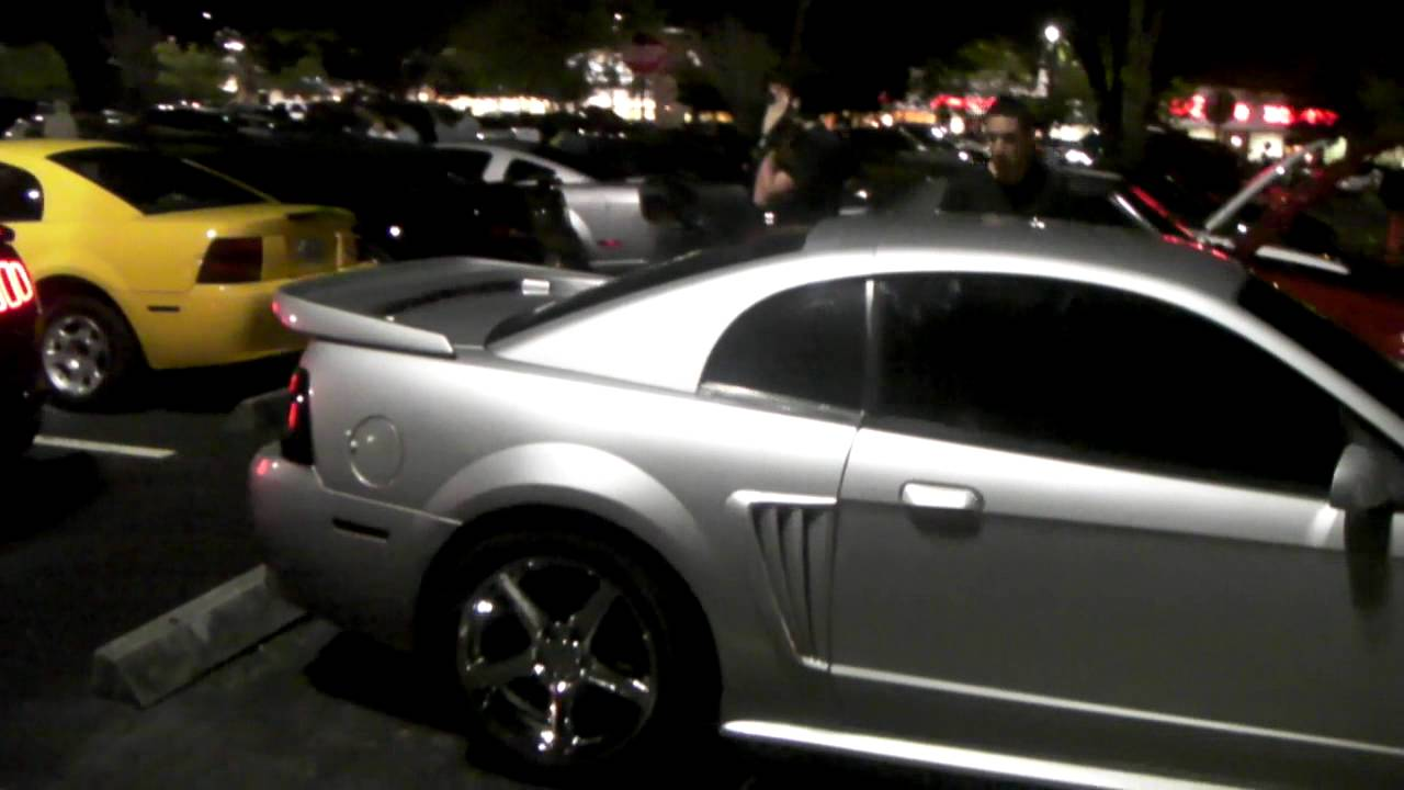 Cobra R Wheels >> Dubsandtires.com 2004 Ford Mustang Cobra Silver Staggered ...