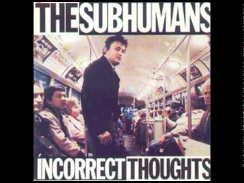 Subhumans - Big Picture