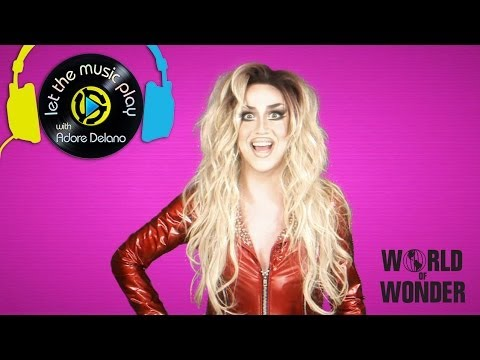 Speak My Sex - Adore Delano's Let The Music Play video