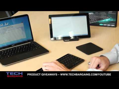 Logitech Bluetooth Illuminated Keyboard K810 Preview (HD)