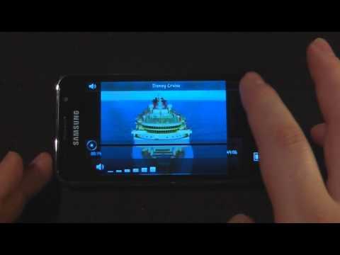 Samsung Galaxy S GT-i9000 Software Tour Part 2