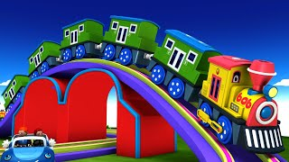 BOB THE TRAIN | Cartoon Videos for Kids - Toy Factory.