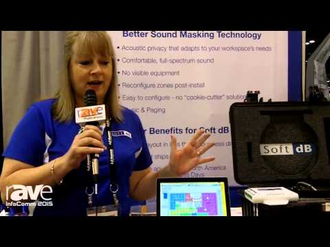 InfoComm 2015: Soft dB Shows smartSMS-NET Sound Masking System