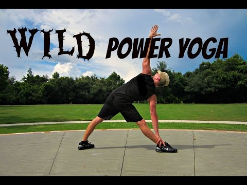 WILD Power Yoga Workout - Core, Balance & Flexibility Training Image 1