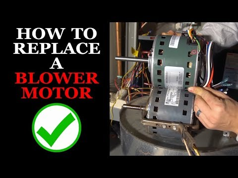 How to Replace the Blower Motor on a Furnace