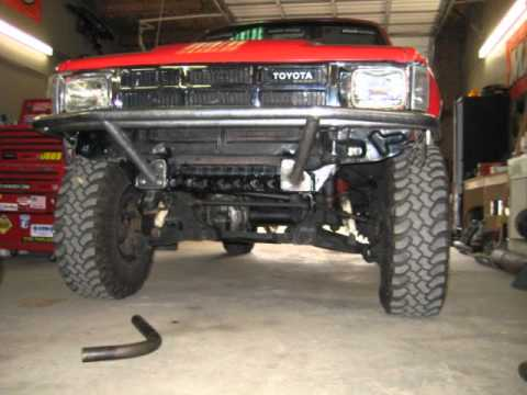 Toyota Winch Bumper Build